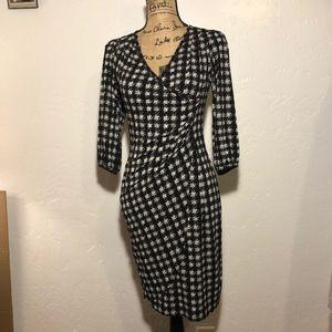 AGB V-neck dress, size XS